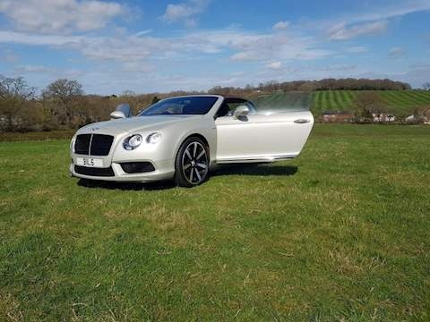 Bentley Continental Gt V8 S Convertible 4.0 Automatic Petrol