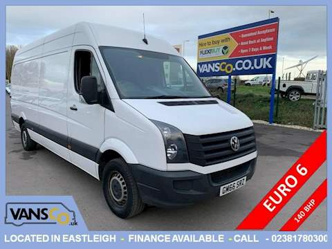 Volkswagen Crafter Cr35 Tdi P/V L Bmt Panel Van 2.0 Manual Diesel