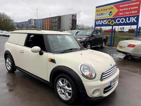 Mini Mini Clubvan Cooper D Car Derived Van 1.6 Manual Diesel