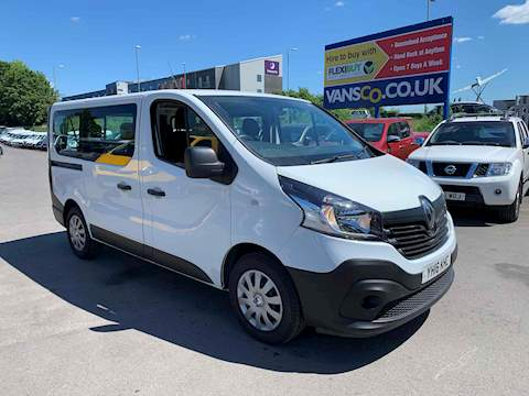 Renault Trafic Sl27 Business Energy Dci 1.6 5dr Mpv Manual Diesel