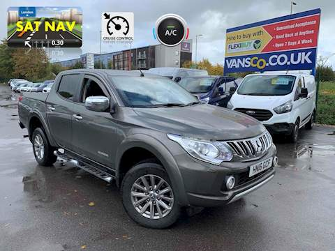Mitsubishi L200 Di-D 4X4 Warrior Dcb 2.4 Pick Up Manual Diesel