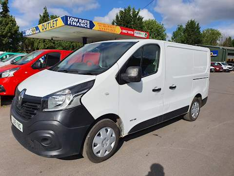 Trafic Sl27 Business Plus Dci S/R P/V Panel Van 1.6 Manual Diesel