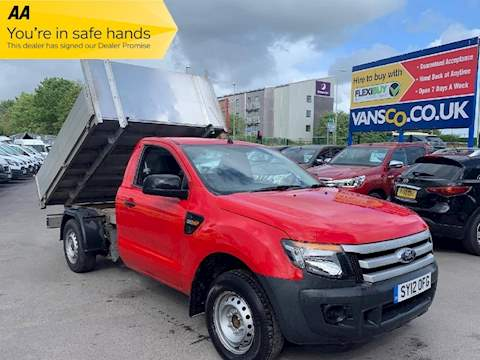 Ford Ranger Xl 4X2 S/C Tdci 2.2 Tipper Manual Diesel