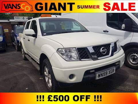 Nissan Navara Dci Acenta 4X4 Dcb Pick-Up 2.5 Manual Diesel