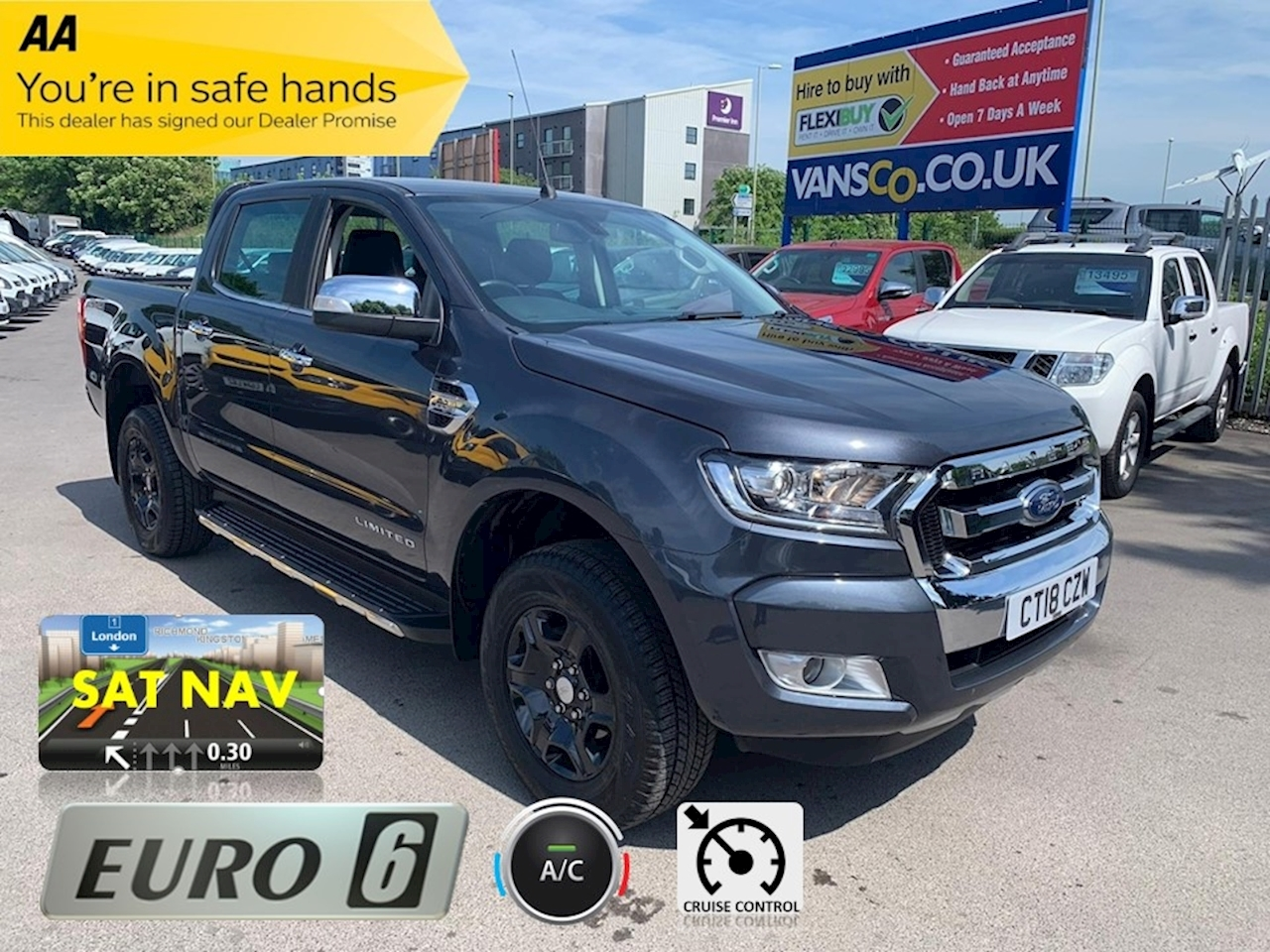 Ranger Limited 4X4 Dcb Tdci Pick-Up 2.2 Automatic Diesel