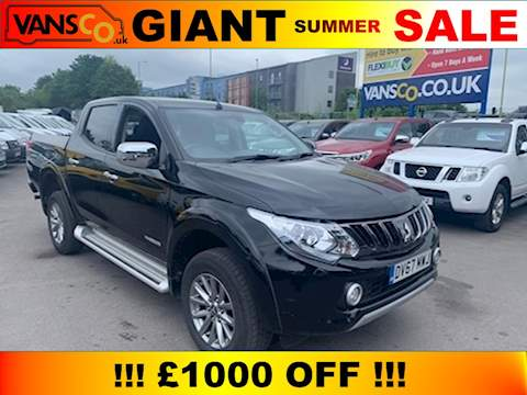 Mitsubishi L200 Di-D 4Wd Warrior Dcb Pick-Up 2.4 Manual Diesel