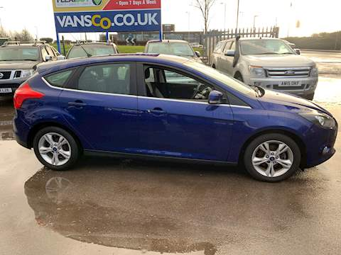 Ford Focus Zetec Econetic Tdci Hatchback 1.6 Manual Diesel
