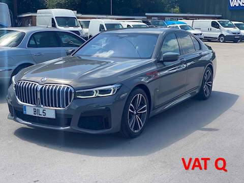 BMW 7 Series 740D Xdrive M Sport Saloon 3.0 Automatic Diesel
