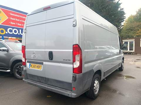 Peugeot Boxer Blue Hdi 335 L3h2 Professional P/V 2.0 Panel Van Manual Diesel