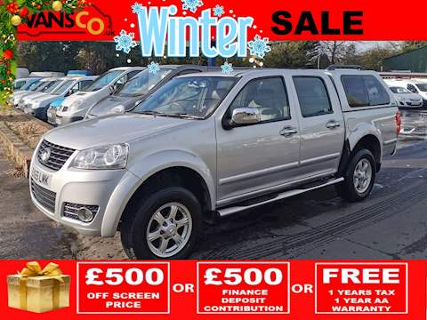 Great Wall Steed Td Se 4X4 Dcb Pick-Up 2.0 Manual Diesel