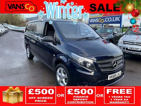 Mercedes-Benz Vito 114 Bluetec Panel Van 2.1 Manual Diesel