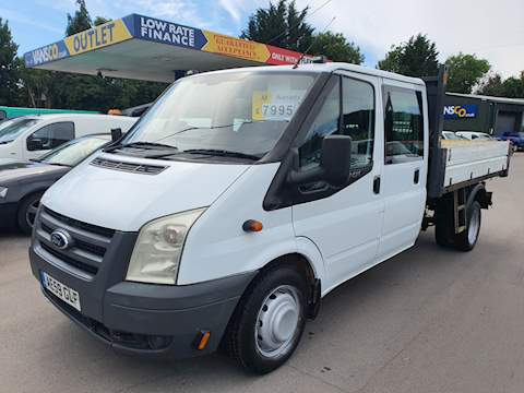 Ford Transit 350 C/C Drw 2.4 Tipper Manual Diesel