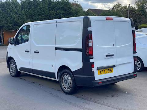 Vauxhall Vivaro 2700 L1h1 Cdti P/V 1.6 Medium Van Manual Diesel