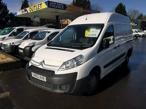 Citroen Dispatch 1200 L2H2 High Roof Van 1.6 Manual Diesel