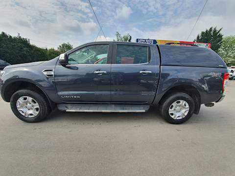 Ford Ranger Limited 4X4 Dcb Tdci 2.2 Pickup Manual Diesel