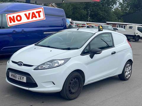 Ford Fiesta 1.4 TDCI Panel Van 3dr Diesel Manual (107 g/km, 69 bhp) 1.4 3dr Panel Van Manual Diesel