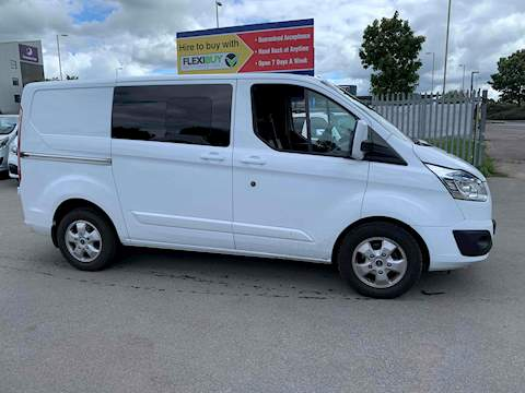 Ford Transit Custom Limited Crew Van 2.0 Crew Van Manual Diesel