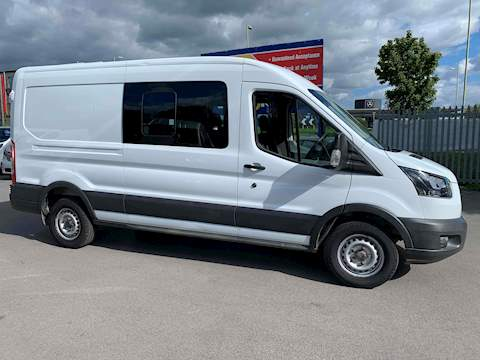 Ford Transit 2.0 350 EcoBlue Panel Van 5dr Diesel Manual RWD L3 H2 EU6 (130 ps) 2.0 5dr Crew Van Manual Diesel