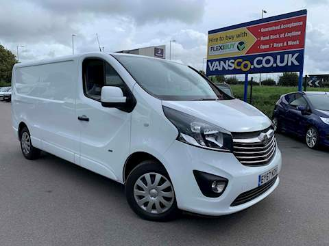 Vivaro Sportive Panel Van 1.6 Manual Diesel