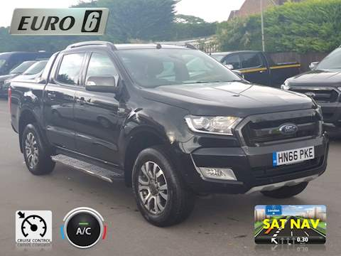Ford Ranger Wildtrak 3.2 4dr Double Cab Pickup Auto Diesel
