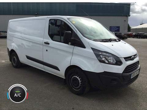 Transit Custom 2.2 TDCi 290 Panel Van 5dr Diesel Manual L1 H1 (186 g/km, 123 bhp) 2.2 5dr Panel Van Manual Diesel