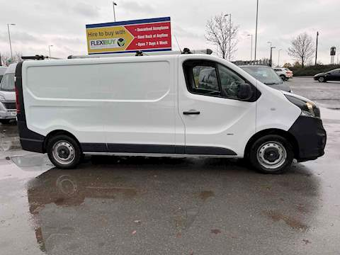 Vauxhall Vivaro 1.6 CDTi 2900 BiTurbo ecoFLEX Panel Van 5dr Diesel Manual L2 H1 EU5 (s/s) (120 ps) Panel Van 1.6 Manual Diesel