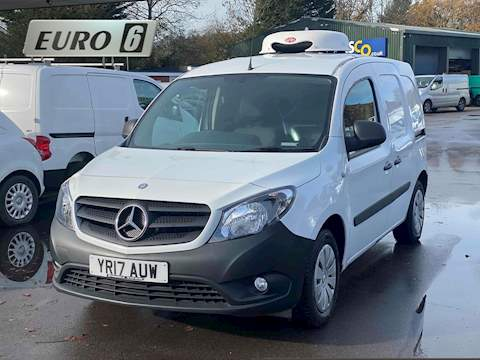 Mercedes-Benz Citan 1.5 109 CDi BlueEFFICIENCY  5dr Diesel Manual L2 EU5 (s/s) (90 ps) 1.5 5dr Temperature Controlled Van Manual Diesel