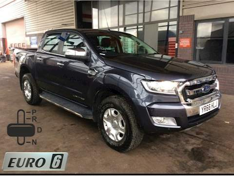 Ford Ranger Limited 1 Double Cab Pickup 3.2 Auto Diesel