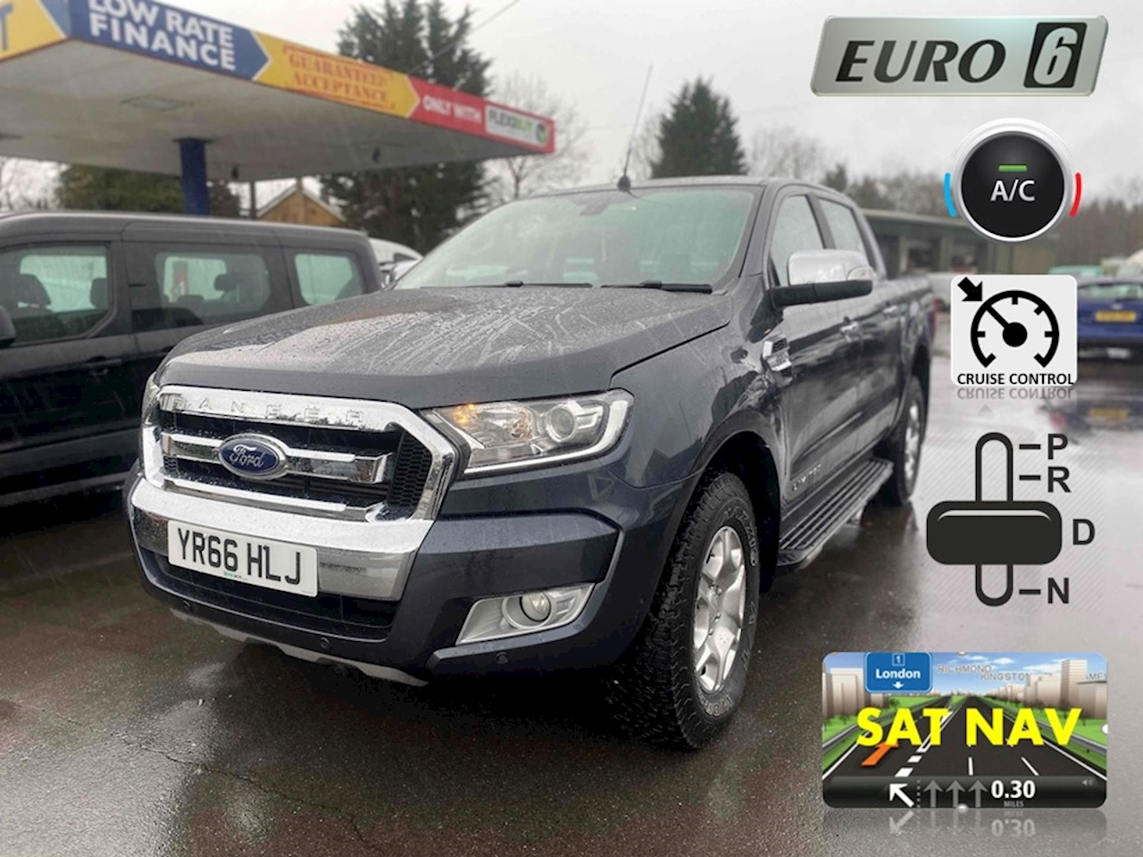 Ranger Limited 1 Double Cab Pickup 3.2 Auto Diesel