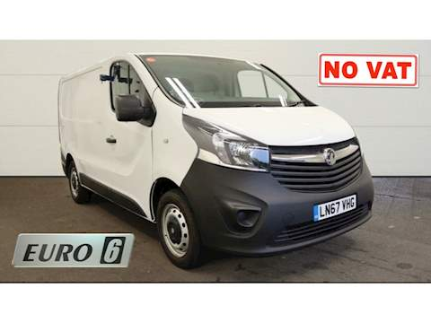 Vauxhall Vivaro 1.6 CDTi 2700 Panel Van 5dr Diesel Manual L1 H1 EU6 (120 ps) Panel Van 1.6 Manual Diesel