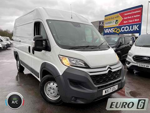 Citroen Relay 2.0 BlueHDi 40 Panel Van 5dr Diesel Manual L2 H2 EU6 (Heavy) (130 ps) Panel Van 2.0 Manual Diesel