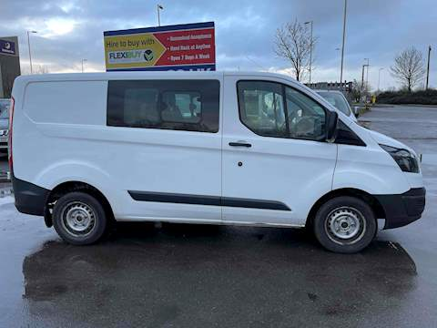 Ford Transit Custom 2.0 TDCi 270 Double Cab-in-Van 6dr Diesel Manual L1 H1 (EU6) (161 g/km, 104 bhp) Combi Van 2.0 Manual Diesel