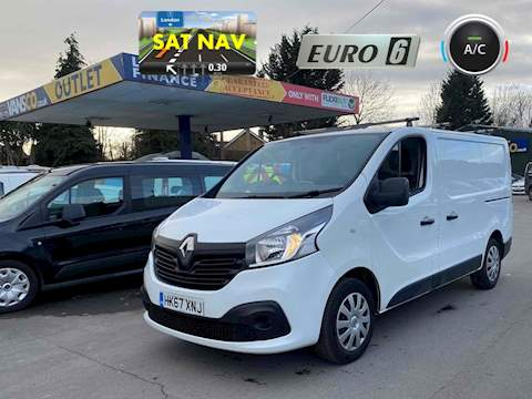 Renault 1.6 dCi 27 Business+ Panel Van 5dr Diesel Manual SWB Standard Roof EU6 (120 ps)