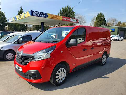 Renault Trafic Business+ 1.6 5dr Panel Van Manual Diesel