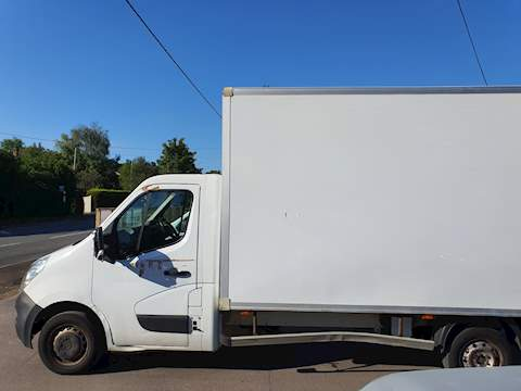 Renault Master 2.3 dCi 35 Box Van 3dr Diesel Manual RWD L3 EU5 (20m3) (125 ps) 2.3 3dr Luton Manual Diesel