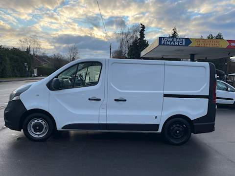 Vauxhall Vivaro 1.6 CDTi 2700 BiTurbo ecoFLEX Panel Van 5dr Diesel Manual L1 H1 EU5 (s/s) (120 ps) 1.6 5dr Medium Van Manual Diesel