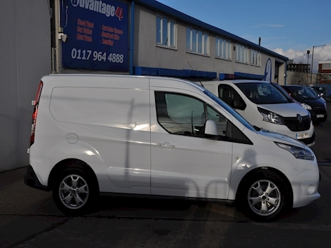 Transit Connect L1 H1 Limited 120PS NAV & CAMERA 1500 Panel Van Manual Diesel