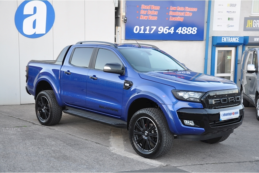 Ranger Wildtrak X Special Edition 4X4 Dcb Tdci 3.2 Pick-Up Automatic Diesel