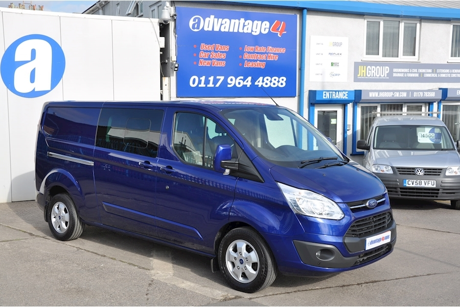 Transit Custom 290 170ps Limited Lr Dcb Panel Van 2.0 Manual Diesel