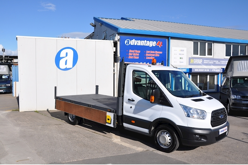 Transit 350 C/C Drw Dropside Lorry 2.2 Manual Diesel