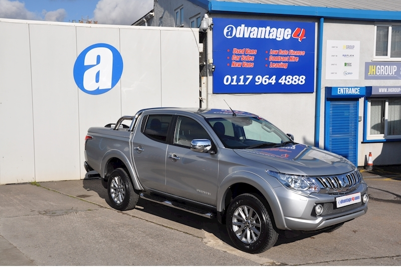 L200 Double Cab Barbarian Auto 4wd 2.4 Double Cab Pick Up Automatic Diesel