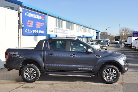 Ranger Wildtrak 4X4 Dcb Tdci Pick-Up 3.2 Manual Diesel