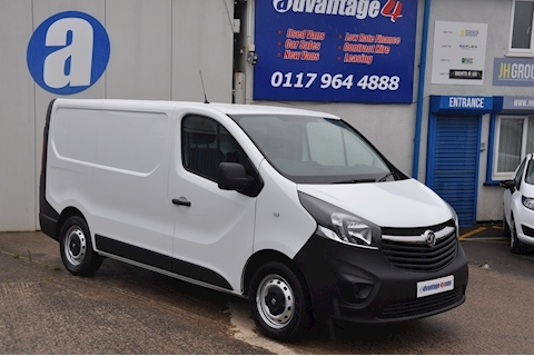 Vauxhall Vivaro 1.6 CDTi 2700 Panel Van 5dr Diesel Manual L1 H1 EU6 (95 ps)