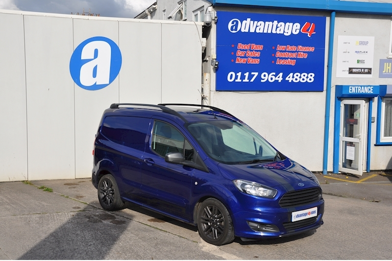 Transit Courier Sport Tdci Panel Van 1.5 Manual Diesel
