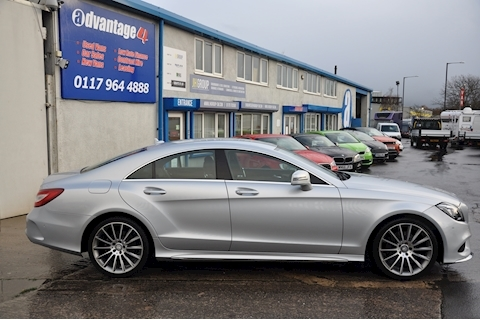 2.1 CLS220 CDi BlueTEC AMG Line Coupe 4dr Diesel G-Tronic+ (s/s) (177 ps)