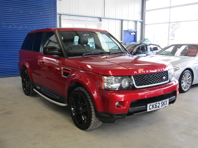 Land Rover Range Rover Sport Sdv6 Hse Red