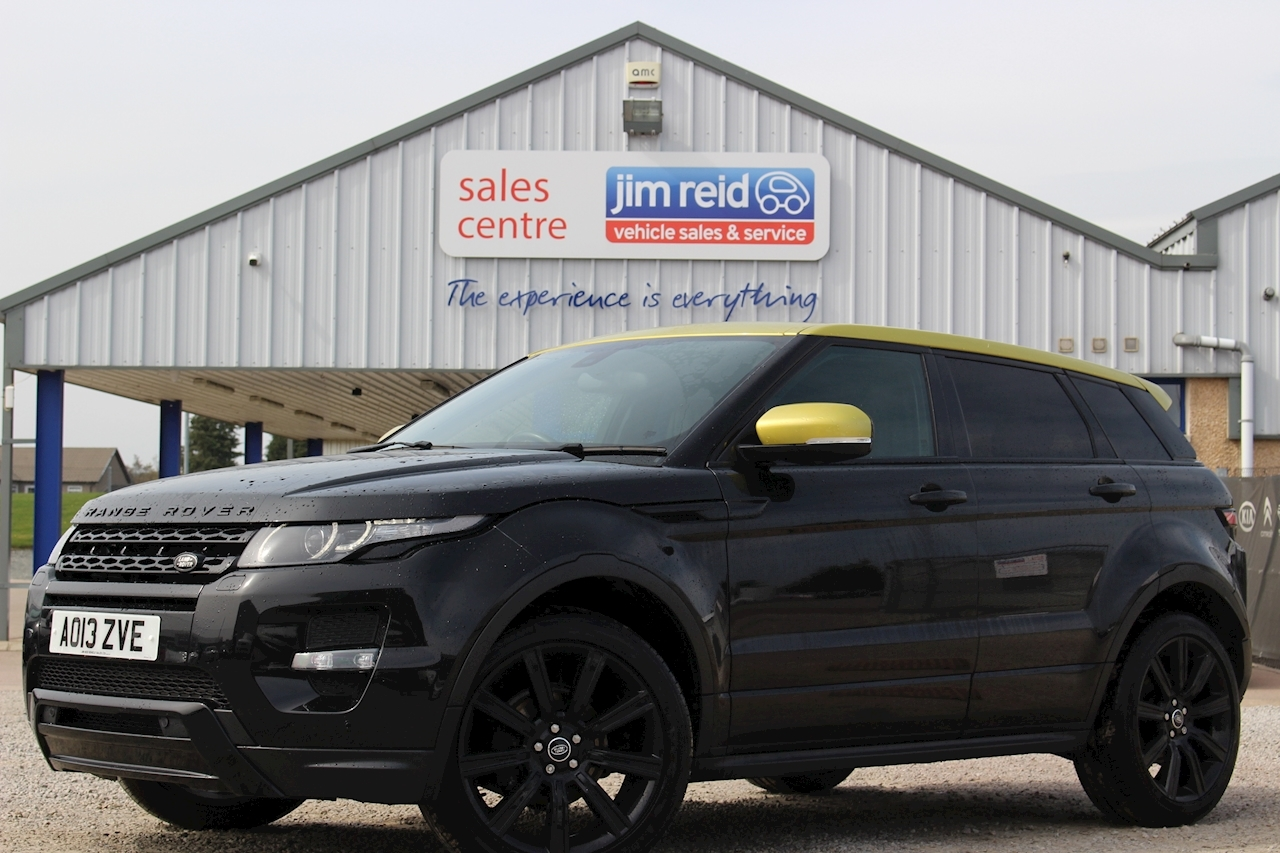 Land Rover Range Rover Evoque Sd4 Sicilian Yellow Estate 2.2 Automatic Diesel