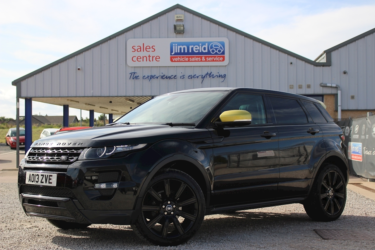 Land Rover Range Rover Evoque Sd4 Sicilian Yellow 2.2TD [190] Automatic