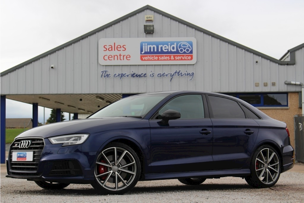 Used 2017 Audi A3 S3 Tfsi Quattro Black Edition Saloon 20 Semi Auto