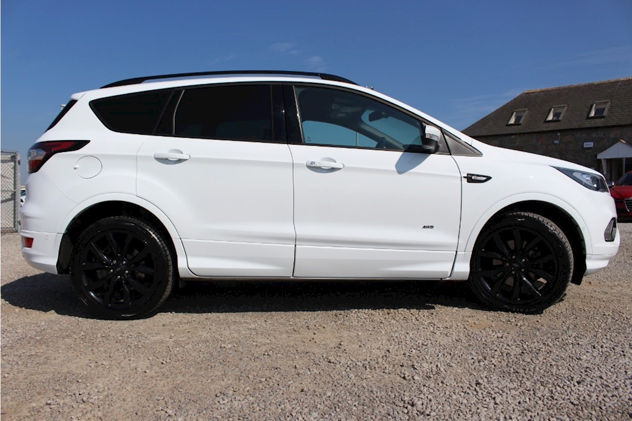 used 2018 ford kuga st line x tdci hatchback 2 0 automatic. Black Bedroom Furniture Sets. Home Design Ideas